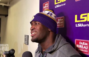 LSU's Devin White says He Wants To Make a Statement vs. Texas A&M
