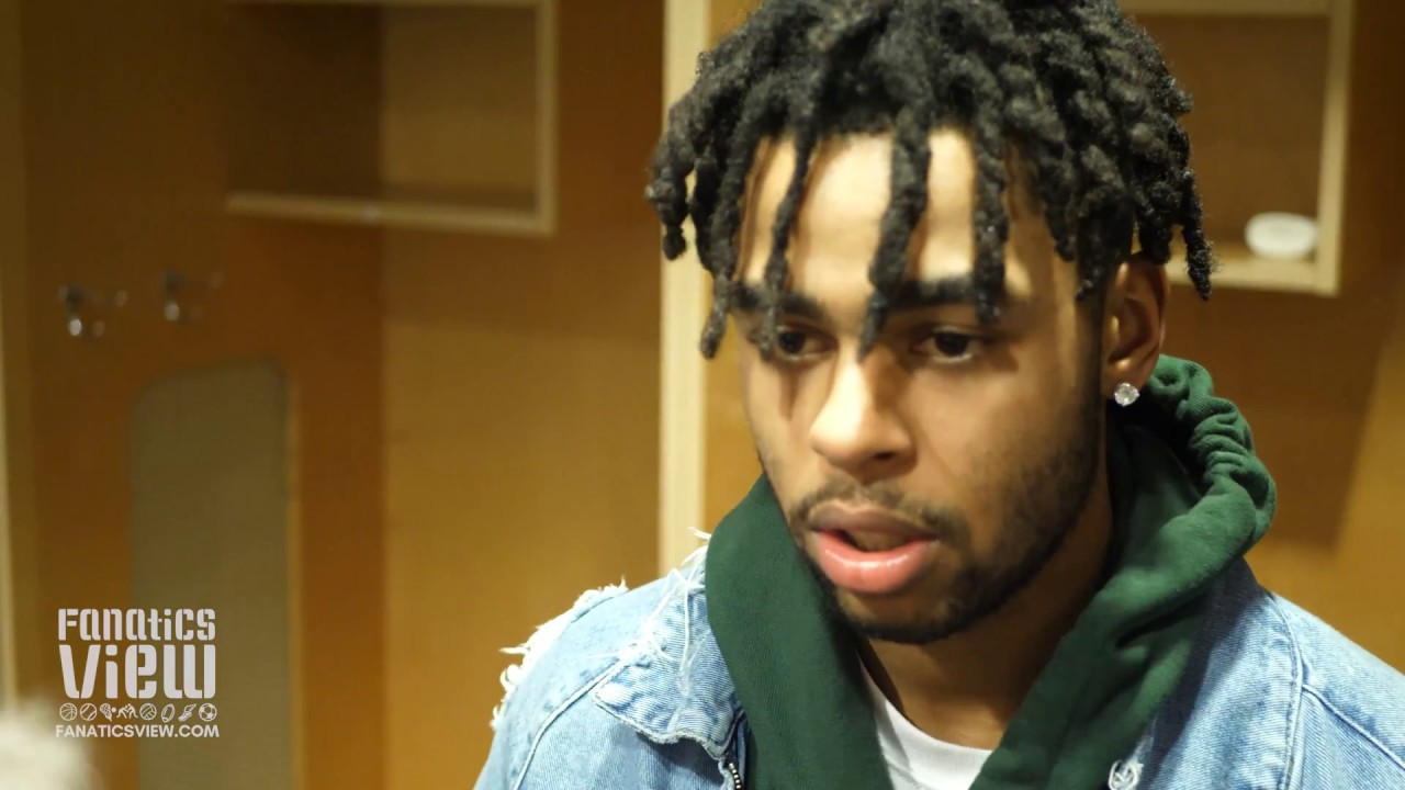 Nets' D'Angelo Russell says Luka Doncic and Dennis Smith Jr. have a nice future