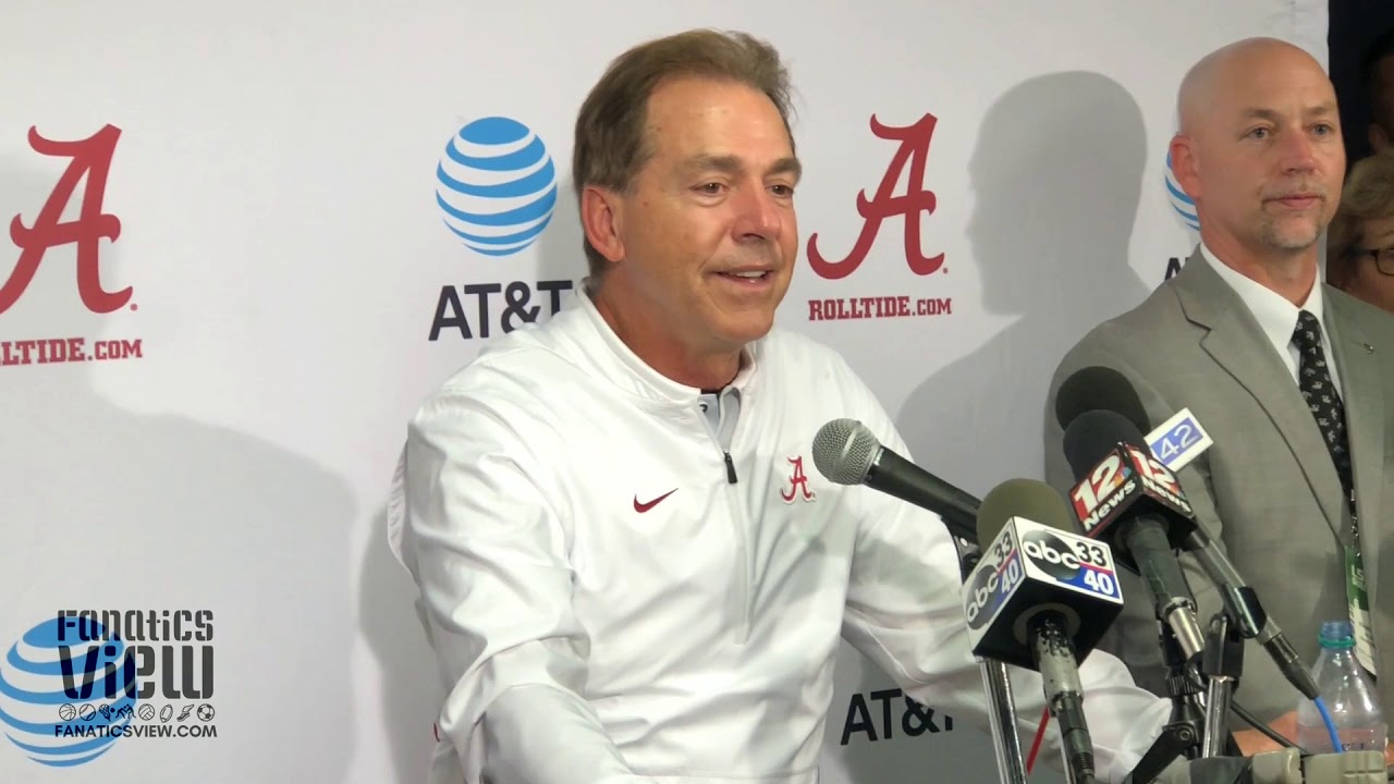 Nick Saban Speaks on Defeating LSU at Death Valley