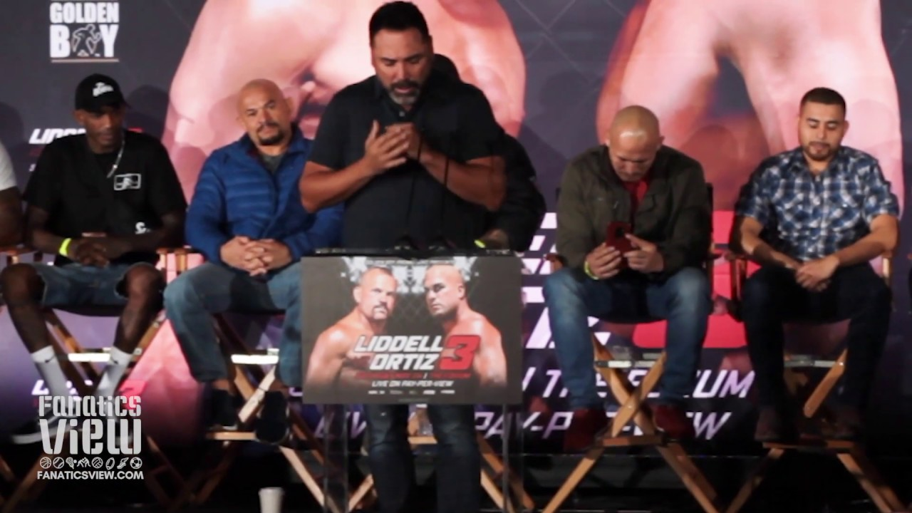 Oscar De La Hoya on Why Golden Boy Promotions Is Entering MMA with Chuck Liddell and Tito Ortiz