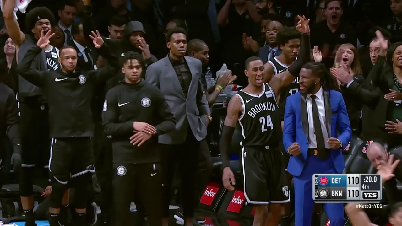 Spencer Dinwiddie carries Nets past Pistons, win 120-119 in OT