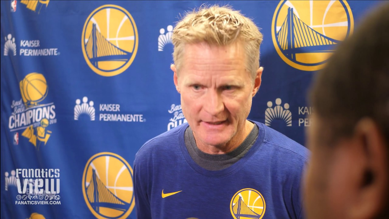 Steve Kerr speaks on Luka Doncic, Derrick Rose and DeMarcus Cousins