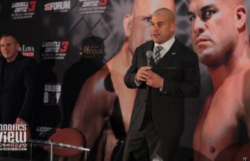 Tito Ortiz Hints at Retirement After Knocking Out Chuck Liddell (Full Press Conference)