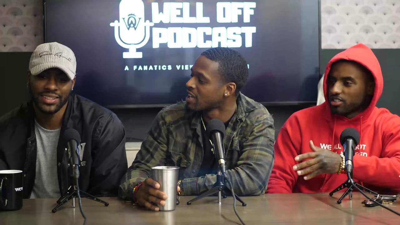 Deion Sanders Jr. & Well Off Podcast Episode 9 -
