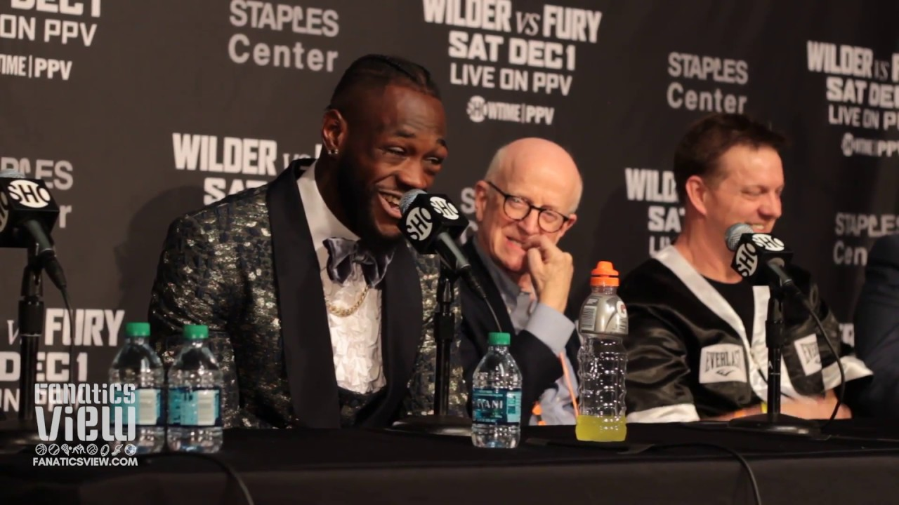 Deontay Wilder Post Fight Press Conference - Wilder vs. Fury