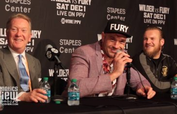 Deontay Wilder & Tyson Fury fight to an Epic Draw at Staples Center