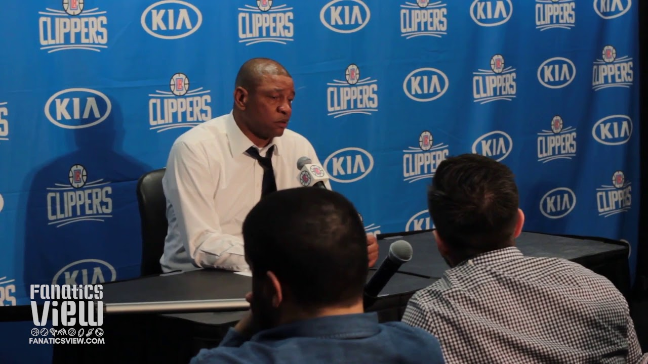 Doc Rivers on Marcin Gortat's Play, Challenges of Back To Backs & Clippers Win vs. Denver