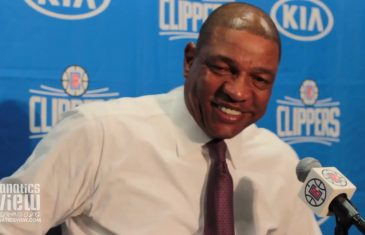 Doc Rivers says Montrezl Harrell Reminds Him of Charles Barkley + Talks Lou Williams & Pat Beverley