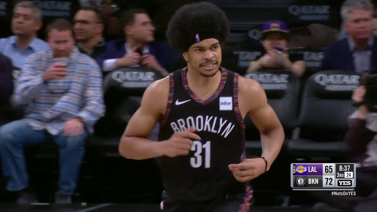 Nets beat Lakers 115-110, win their sixth straight game.