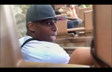 Deion Sanders HILAROUS reaction to Roller Coaster Ride at Disney World