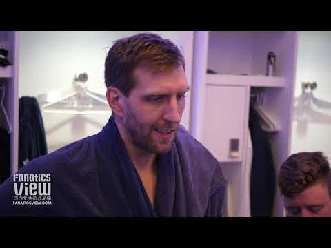 Dirk Nowitzki on LeBron James, Mavs Loss to Lakers, Tyson Chandler & Mavs Ball Movement