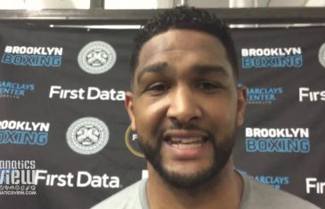 Dominic Breazeale says he's coming for Deontay Wilder's heavyweight title
