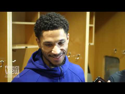 Josh Hart on Guarding Luka Doncic, Strong Performance vs. Dallas & Lakers Veteran Leadership