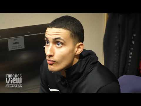 Kyle Kuzma on Returning from Injury & Luke Walton Calling Out Lonzo Ball + Brandon Ingram