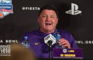 LSU Fiesta Bowl Press Conference Highlights – feat. Ed Orgeron & Joe Burrow (Post-Game)
