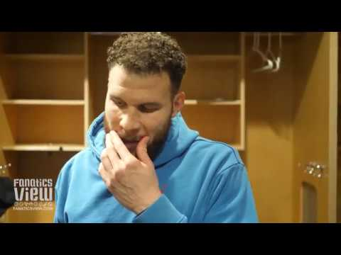 Blake Griffin speaks on Luka Doncic, Dirk Nowtizki, Carmelo Anthony & Reggie Jackson Photobomb