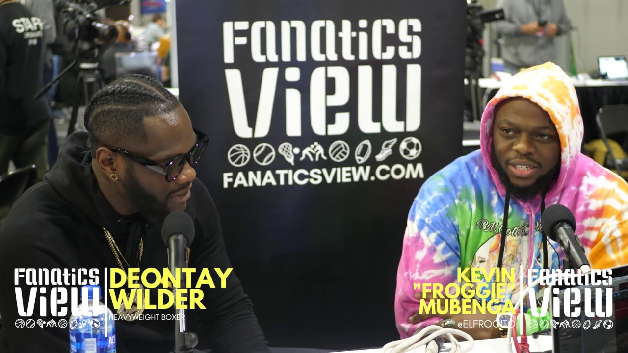 Deontay Wilder talks Tyson Fury Fight, Errol Spence, Going Viral
