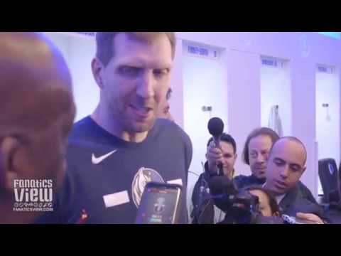 Dirk Nowitzki on Coaching Luka Doncic at All-Star, Dwyane Wade Relationship & 3-Point Contest