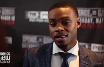 Errol Spence eager to defend title against Mikey Garcia at AT&T Stadium