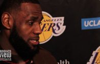 LeBron James speaks on his Return to action vs. Los Angeles Clippers