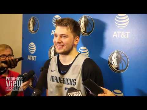 Luka Doncic talks NBA All-Star Experience, Dirk Nowitzki & Dwyane Wade's LeBron James Comparison