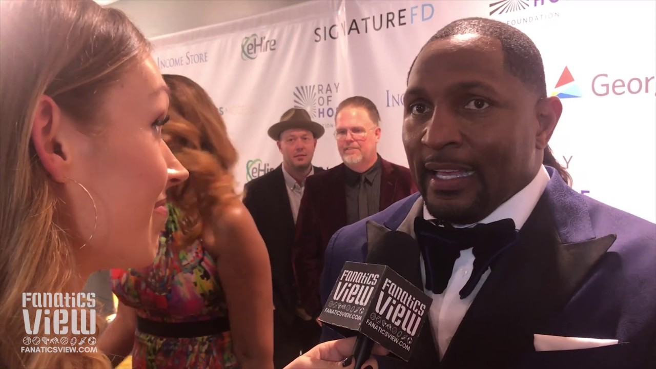 Ray Lewis speaks on giving back to the community and Super Bowl LIII