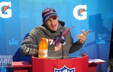 Rob Gronkowski on Super Bowl LIII: 'It's just another game of football'