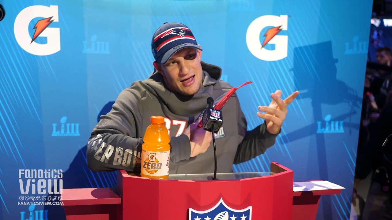 81340de5da1 Rob Gronkowski on Super Bowl LIII   It s just another game of football