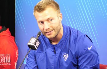 "Sean McVay on Rams Super Bowl LIII Loss to Patriots: ""I Got Out Coached."""