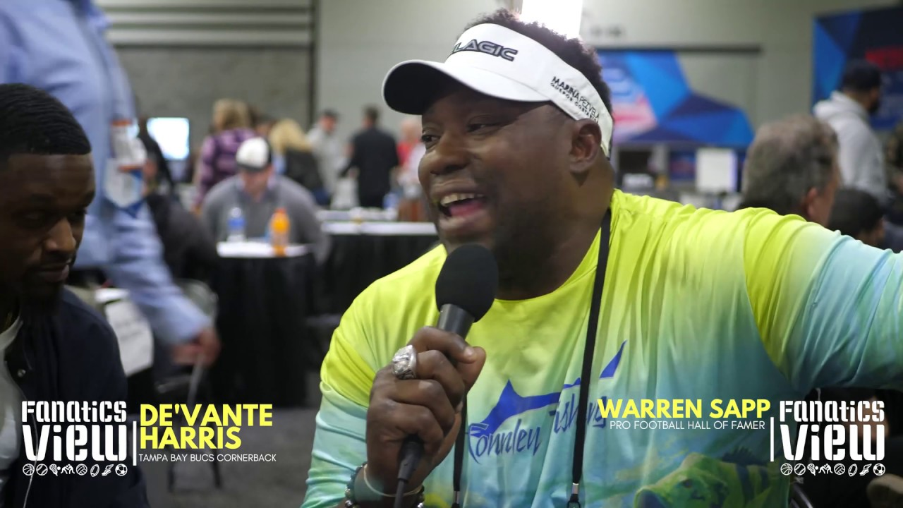 Warren Sapp & De'Vante Harris talk Tampa Bucs, Saints Blown Call, Bruce Arians, Patriots & More