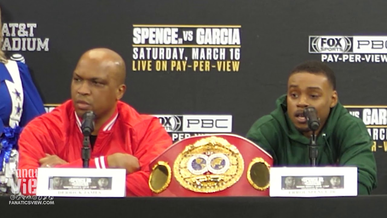 Errol Spence on Shawn Porter: 'He took the easy way out'