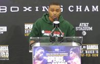 Errol Spence says Mikey Garcia fight will be a 'one sided massacre.'