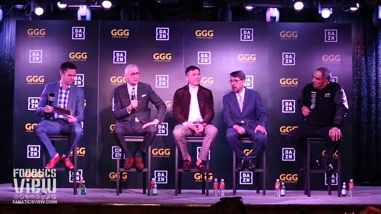 Gennady 'GGG' Golovkin on signing six-fight deal with streaming platform DAZN