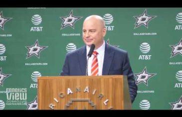 Jim Montgomery on Dallas Stars 4-0 Shutout vs. Colorado Avalanche (Post-Game Press Conference)