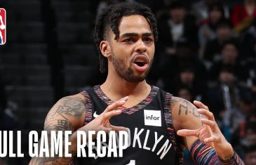 Nets dominate Pistons 103-75, claim sixth seed in Eastern Conference