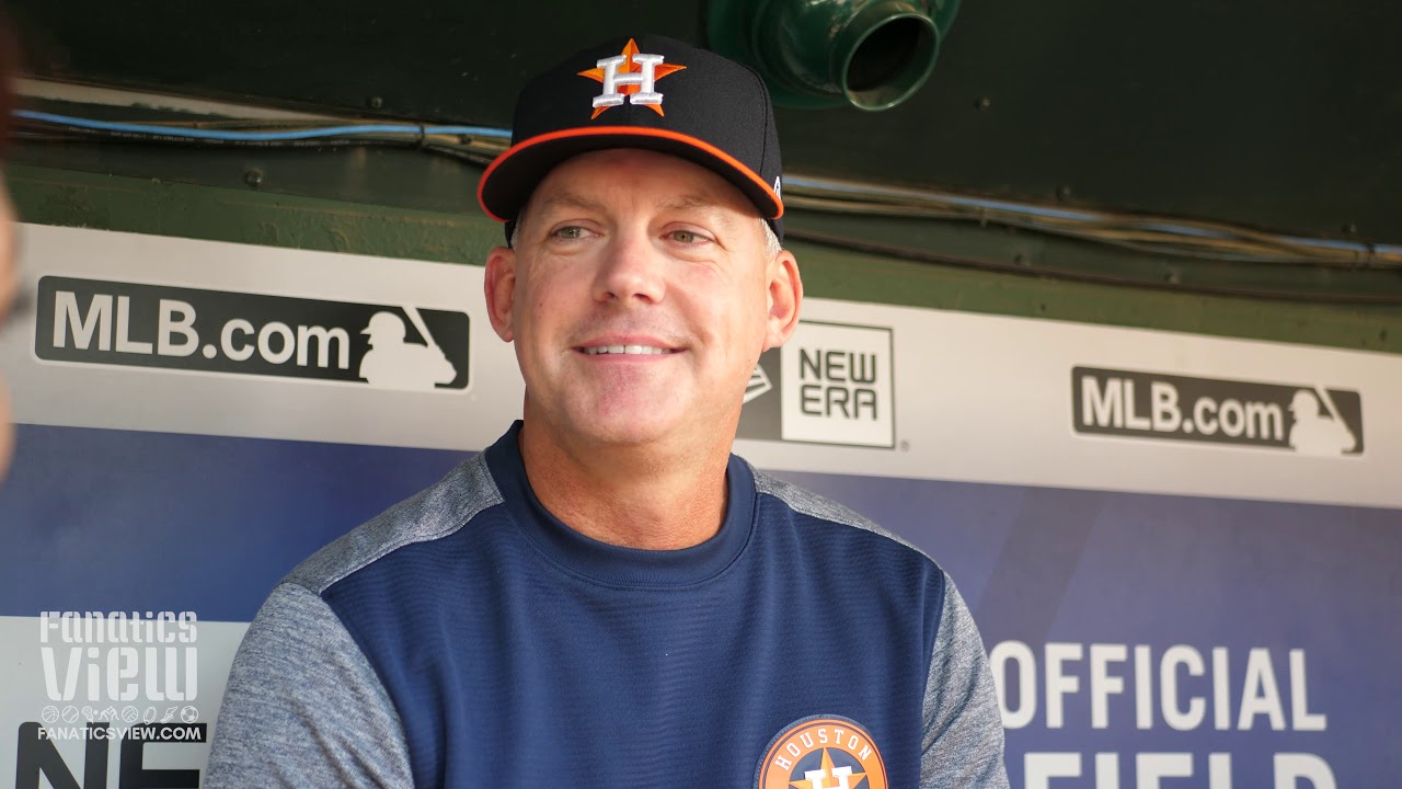 AJ Hinch speaks on free agents Dallas Keuchel & Craig Krimbrel + Gerrit Cole