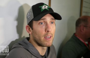 Ben Bishop speaks on Dallas Stars' blowout Game 4 victory