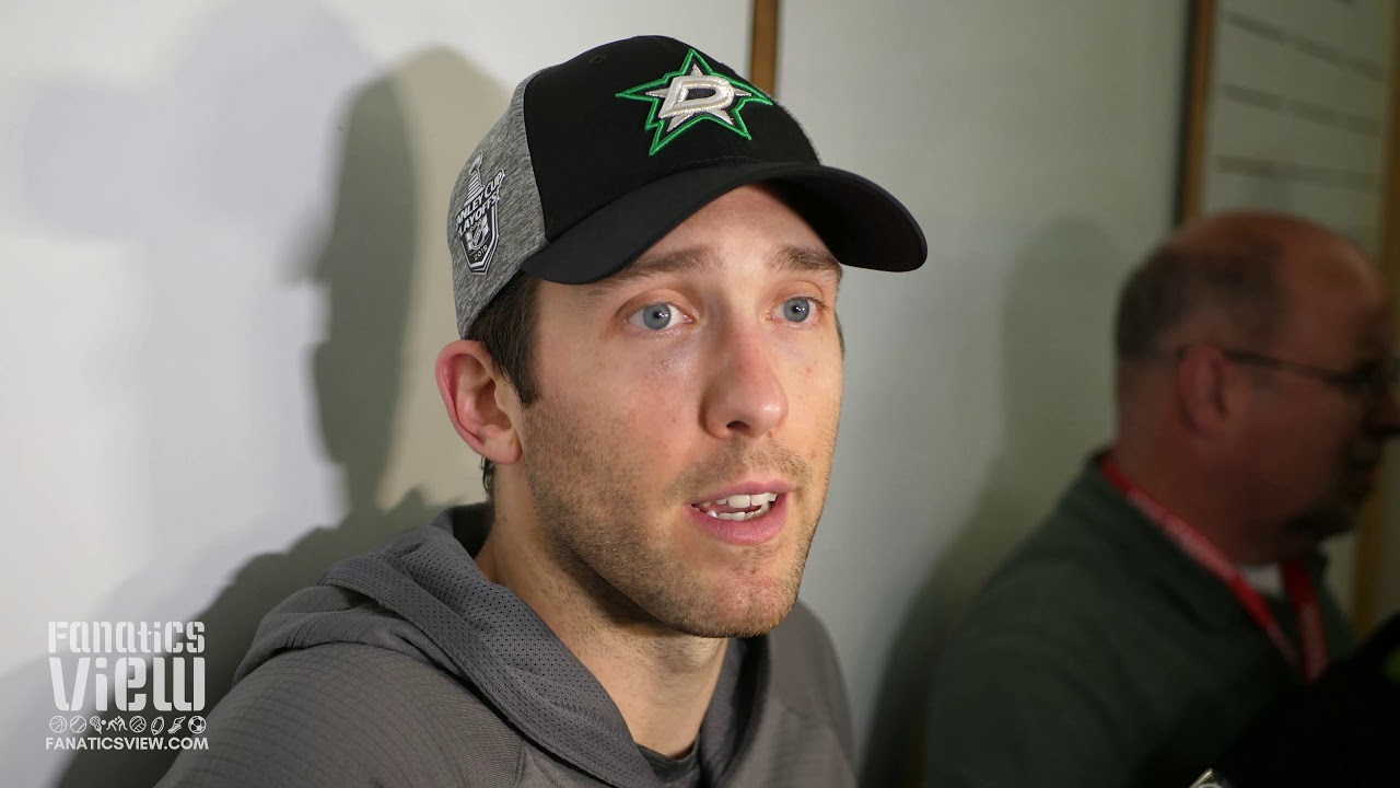 d64d0dc70f7 Ben Bishop speaks on Dallas Stars  blowout Game 4 victory