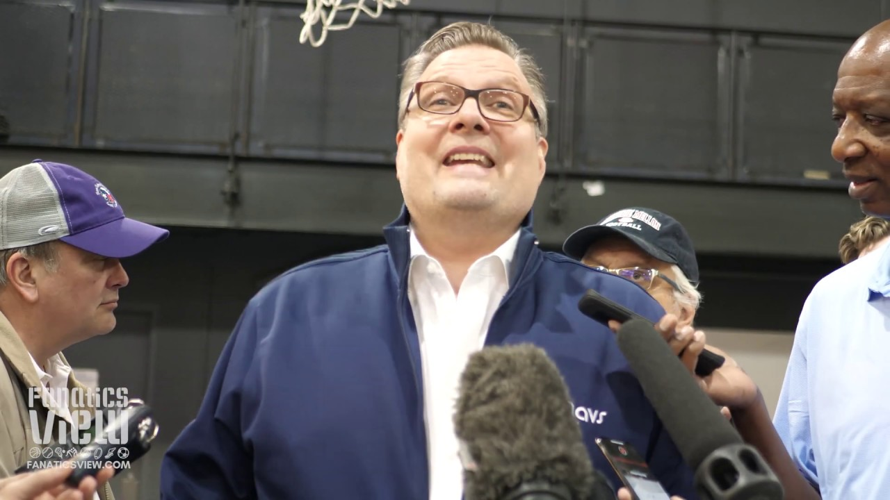 Dallas Mavs GM Donnie Nelson on Luka Doncic Rookie Year, Kristap Porzingis Future & Dirk Retirement