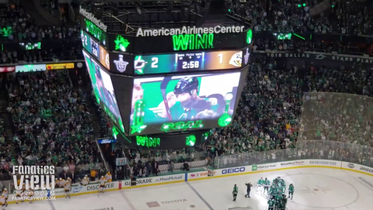 Dallas Stars advance to Western Conference Semifinals with Game 6 win over Nashville
