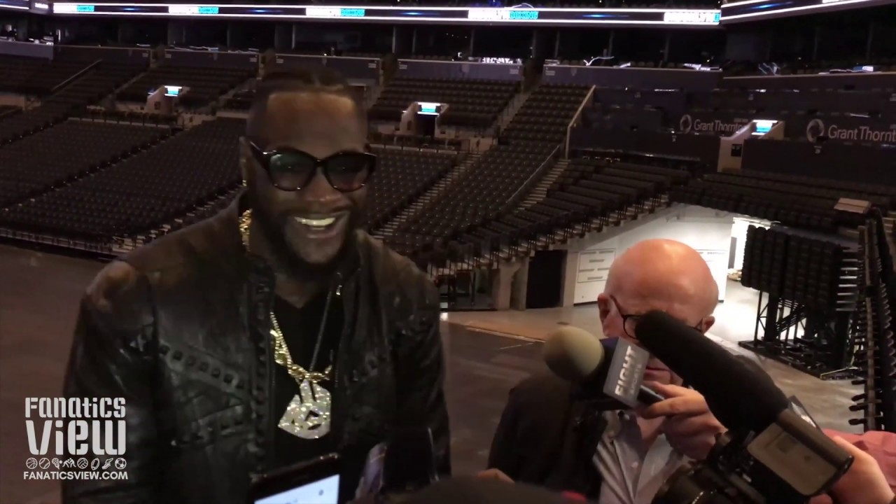 Deontay Wilder on Brawl with Dominic Breazeale: 'His Life is On the Line'