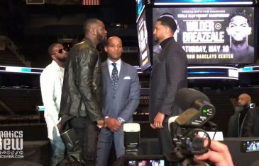 Deontay Wilder warns Dominic Breazeale: 'You better be more than ready.'