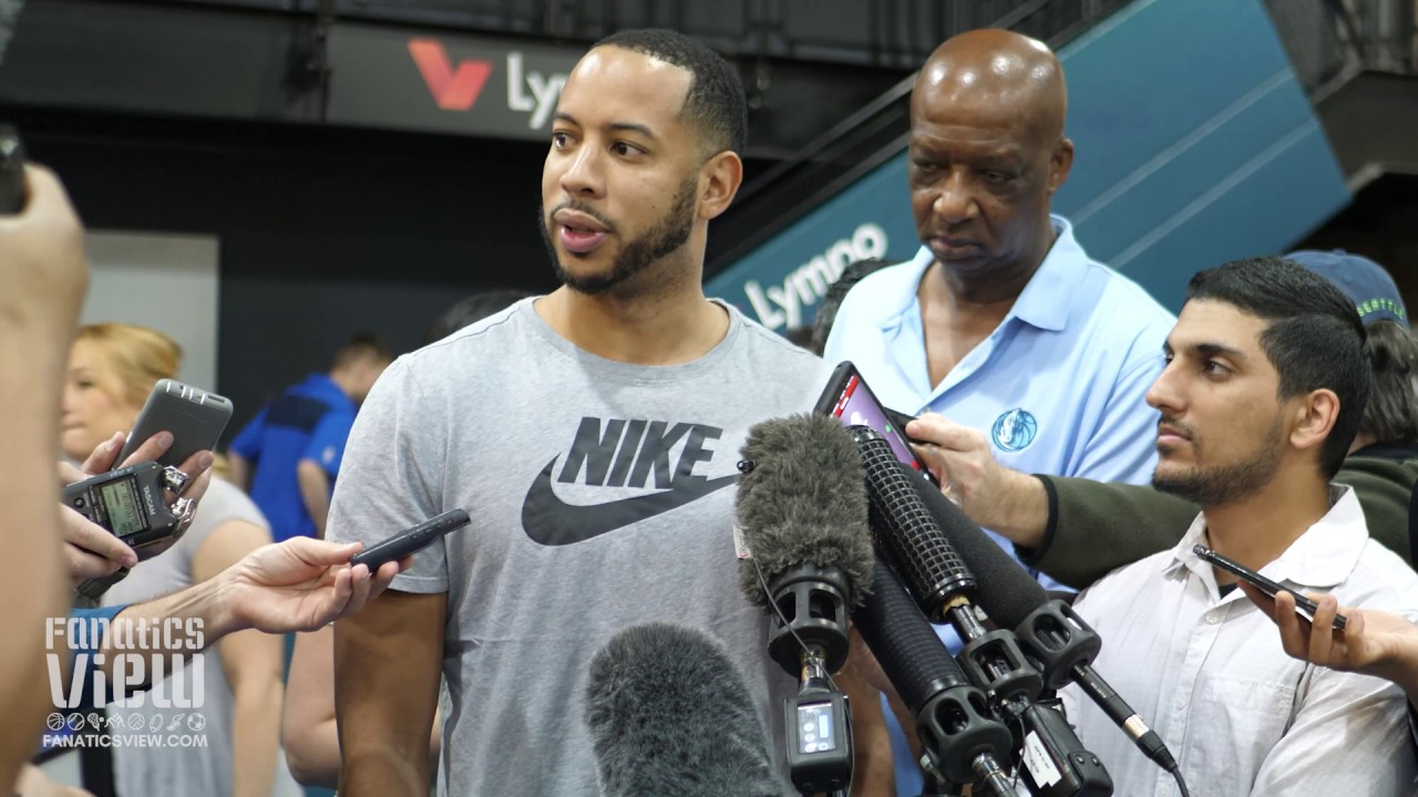 Devin Harris talks about Dirk Nowitzki's last game and the Mavericks' future
