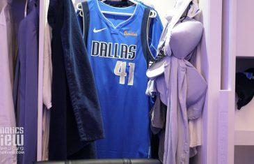 Dirk Nowitzki's Locker for Dirk's Final Dallas Mavericks Home Game