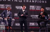 Errol Spence and Mikey Garcia expect each other's best on fight night