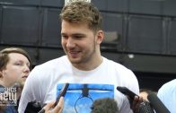 Luka Doncic expects Duke to cut down the nets in April