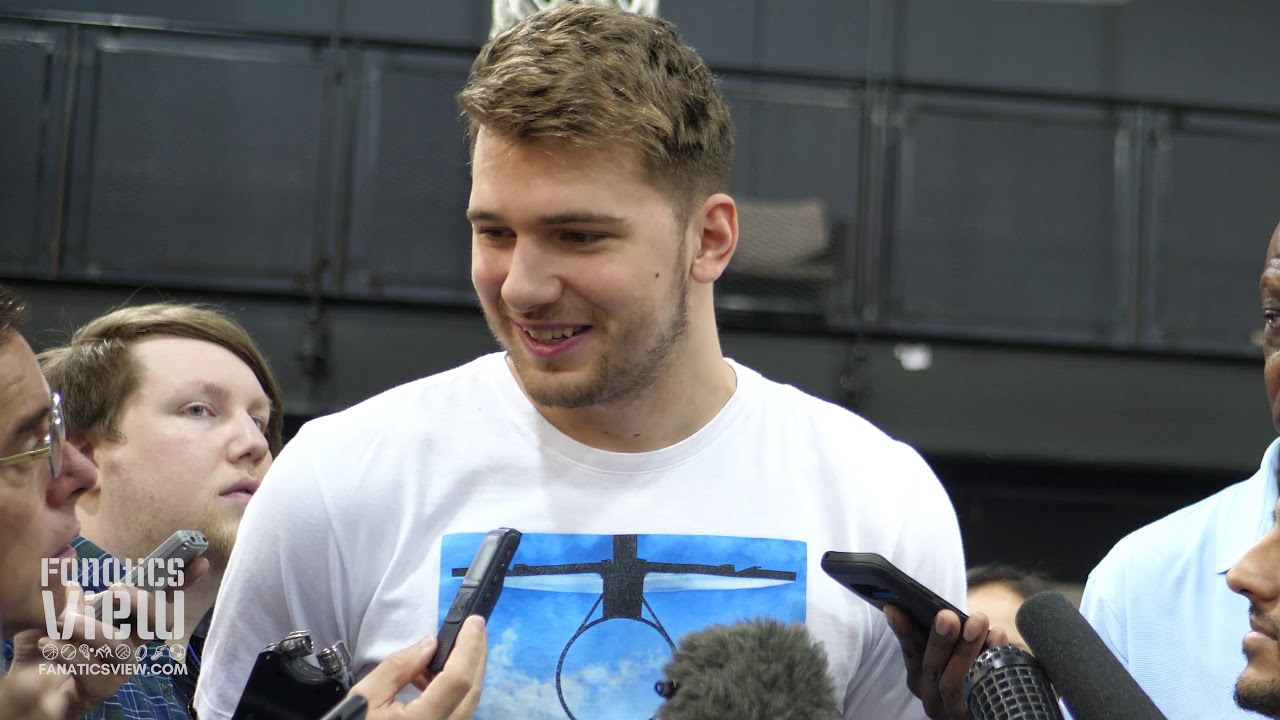 Luka Doncic on 2019 Rookie Season, Dirk Nowitzki & Dallas Mavs Future (Exit Interview)
