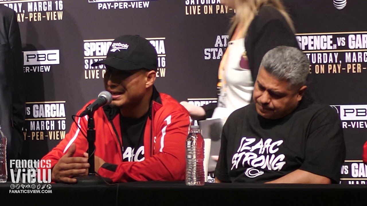 Mikey Garcia says he would