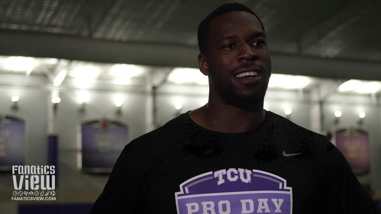 TCU edge rusher Ben Banogu talks 2019 Pro Day Experience & NFL Future