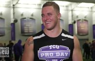 TCU linebacker Ty Summers Reflects on Pro Day & NFL Mock Drafts
